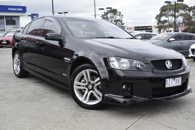 Used Holden Commodore VE MY09.5 SV6, 2009 Holden Commodore VE MY09.5 SV6 Black/Grey 5 Speed Sports Automatic Sedan