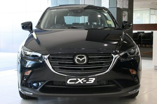 2020 Mazda CX-3 DK2W7A Akari SKYACTIV-Drive FWD LE Jet Black 6 Speed Sports Automatic Wagon