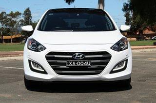 2015 Hyundai i30 GD3 Series II MY16 Premium White 6 Speed Manual Hatchback.