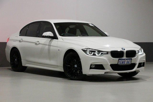 Used BMW 330i F30 LCI MY18 M Sport, 2018 BMW 330i F30 LCI MY18 M Sport Alpine White 8 Speed Automatic Sedan