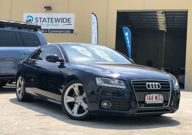 Used Audi A5 8T MY10 S Tronic Quattro, 2010 Audi A5 8T MY10 S Tronic Quattro Blue 7 Speed Sports Automatic Dual Clutch Coupe