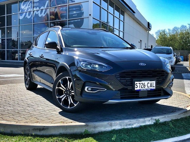 Demo Ford Focus SA 2019.75MY Active, 2019 Ford Focus SA 2019.75MY Active Shadow Black 8 Speed Automatic Hatchback