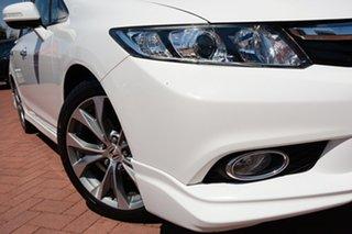 2013 Honda Civic 9th Gen Ser II MY13 Sport Taffeta White 5 Speed Sports Automatic Sedan.