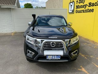 2015 Nissan Navara D23 ST Cosmic Black 6 Speed Manual Utility