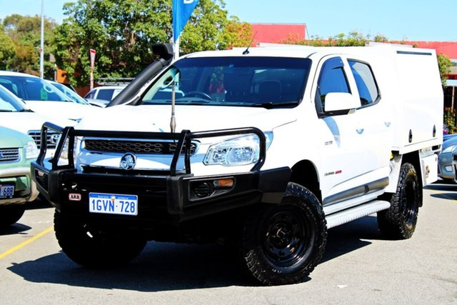 Used Holden Colorado RG MY13 LT Crew Cab, 2013 Holden Colorado RG MY13 LT Crew Cab White 6 Speed Sports Automatic Utility
