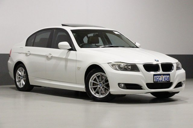 Used BMW 320d E90 MY09 Executive, 2010 BMW 320d E90 MY09 Executive White 6 Speed Auto Steptronic Sedan