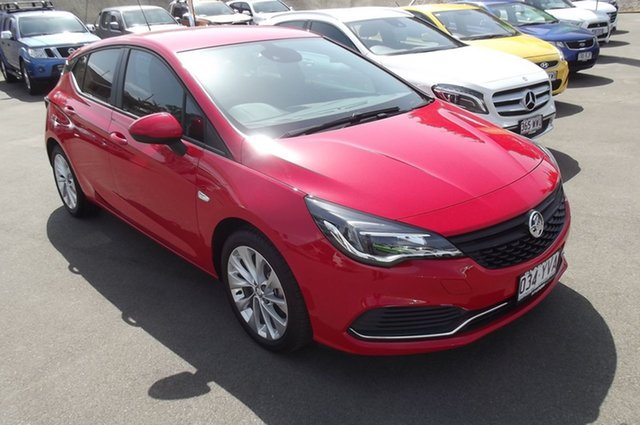 Used Holden Astra BK MY18.5 R, 2018 Holden Astra BK MY18.5 R Red 6 Speed Sports Automatic Hatchback