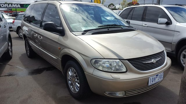 Used Chrysler Grand Voyager RG 4th Gen Limited, 2002 Chrysler Grand Voyager RG 4th Gen Limited Gold 4 Speed Automatic Wagon