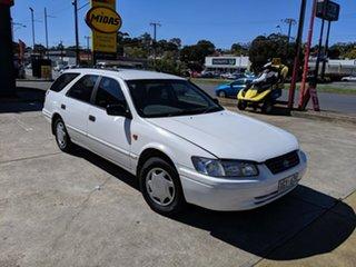 1998 Toyota Camry SXV20R CSi White 4 Speed Automatic Wagon.