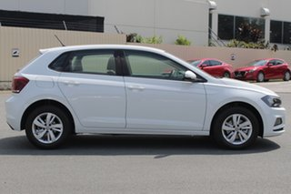 2019 Volkswagen Polo AW MY19 85TSI DSG Comfortline Pure White 7 Speed Sports Automatic Dual Clutch.