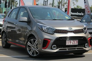 2019 Kia Picanto JA MY19 GT-Line Titanium Silver 4 Speed Automatic Hatchback.