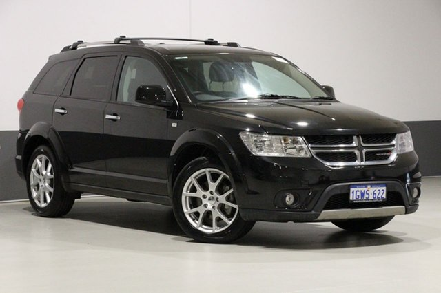 Used Dodge Journey JC MY13 R/T, 2013 Dodge Journey JC MY13 R/T Black 6 Speed Automatic Wagon