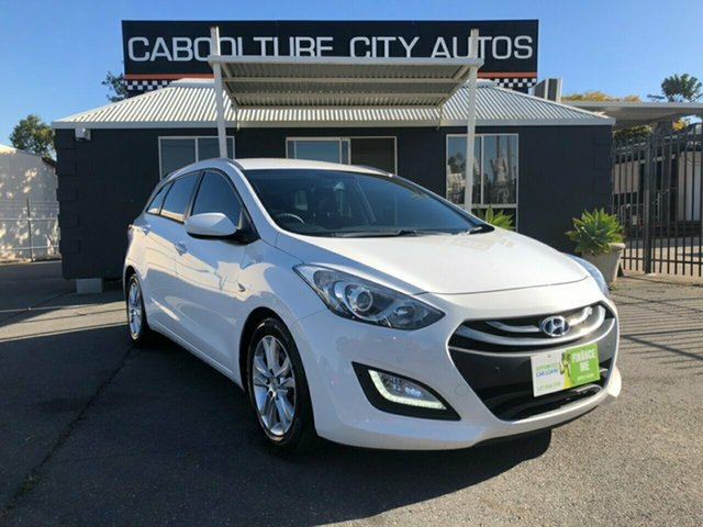 Used Hyundai i30 GD Tourer Active 1.6 CRDi, 2014 Hyundai i30 GD Tourer Active 1.6 CRDi White 6 Speed Automatic Wagon