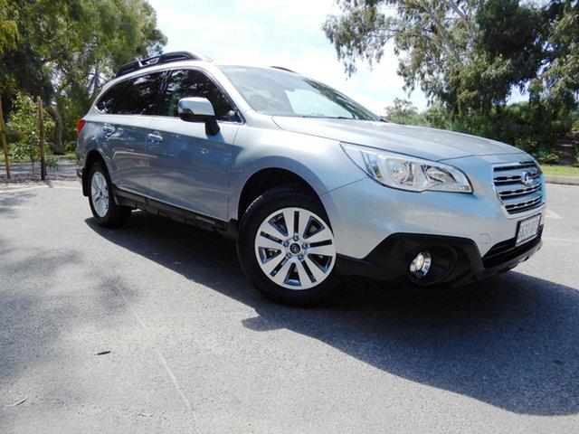 Used Subaru Outback B6A MY16 2.0D CVT AWD, 2016 Subaru Outback B6A MY16 2.0D CVT AWD Silver 7 Speed Constant Variable Wagon