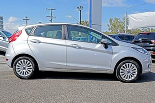 2012 Ford Fiesta WT LX PwrShift Silver 6 Speed Sports Automatic Dual Clutch Hatchback
