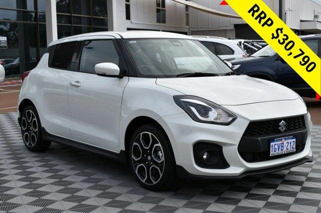 Demo Suzuki Swift AZ Sport, 2019 Suzuki Swift AZ Sport Pure White 6 Speed Manual Hatchback