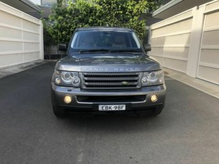 2008 Land Rover Range Rover Sport L320 08MY TDV6 Grey 6 Speed Sports Automatic Wagon.