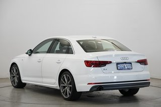 2017 Audi A4 B9 8W MY18 S Line S Tronic White 7 Speed Sports Automatic Dual Clutch Sedan