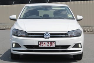 2019 Volkswagen Polo AW MY19 85TSI DSG Comfortline Pure White 7 Speed Sports Automatic Dual Clutch