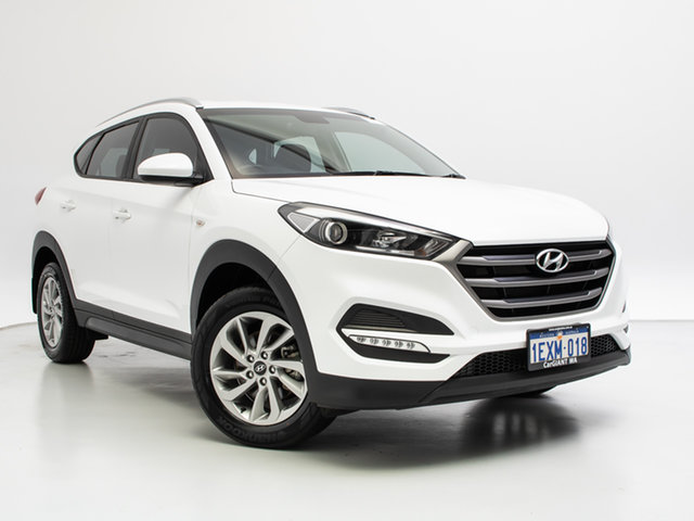 Used Hyundai Tucson TLE Active (FWD), 2015 Hyundai Tucson TLE Active (FWD) White 6 Speed Manual Wagon