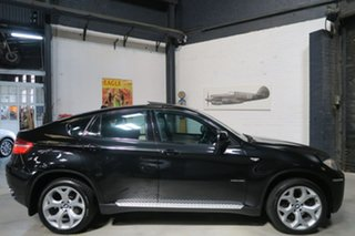 2008 BMW X6 E71 xDrive35i Coupe Steptronic Black 6 Speed Sports Automatic Wagon.