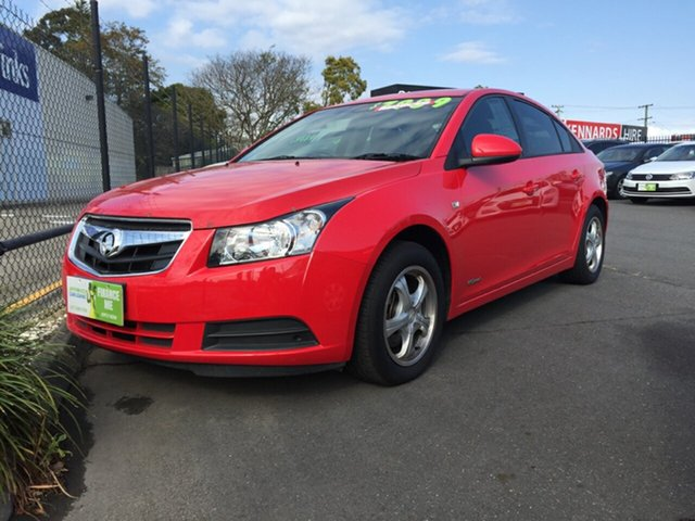 Used Holden Cruze JG CD, 2009 Holden Cruze JG CD Red 5 Speed Manual Sedan