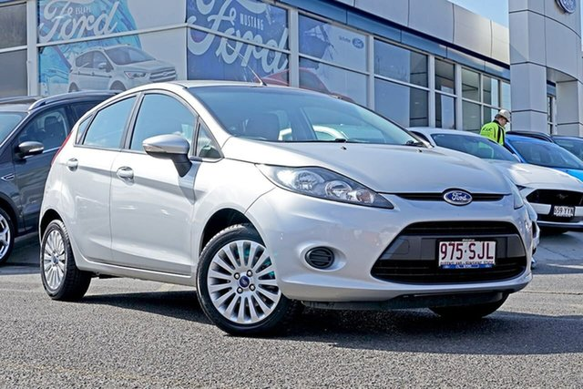 Used Ford Fiesta WT LX PwrShift, 2012 Ford Fiesta WT LX PwrShift Silver 6 Speed Sports Automatic Dual Clutch Hatchback