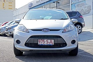 2012 Ford Fiesta WT LX PwrShift Silver 6 Speed Sports Automatic Dual Clutch Hatchback.