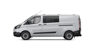 2019 Ford Transit Custom VN 2019.75MY 340L (Low Roof) White 6 Speed Automatic Double Cab Van