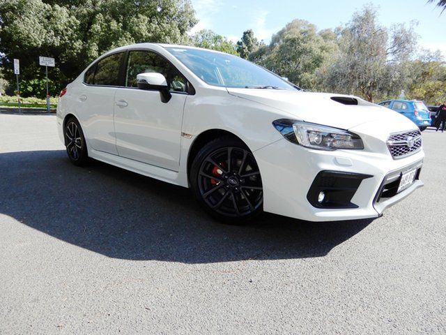 Used Subaru WRX V1 MY18 Premium Lineartronic AWD, 2017 Subaru WRX V1 MY18 Premium Lineartronic AWD White 8 Speed Constant Variable Sedan
