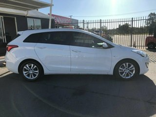 2014 Hyundai i30 GD Tourer Active 1.6 CRDi White 6 Speed Automatic Wagon.