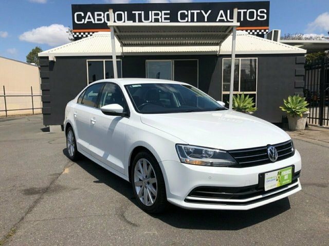 Used Volkswagen Jetta 1KM MY16 118 TSI Comfortline, 2016 Volkswagen Jetta 1KM MY16 118 TSI Comfortline White 7 Speed Auto Direct Shift Sedan