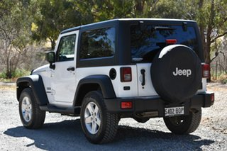 2014 Jeep Wrangler JK MY2014 Sport White 5 Speed Automatic Softtop
