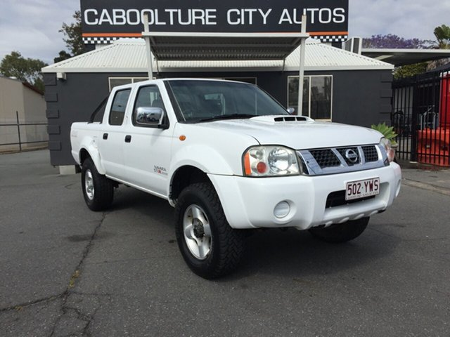 Used Nissan Navara D22 MY08 ST-R (4x4), 2010 Nissan Navara D22 MY08 ST-R (4x4) White 5 Speed Manual Dual Cab Pick-up
