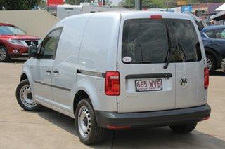 2016 Volkswagen Caddy 2KN MY16 TSI220 SWB DSG Silver 7 Speed Sports Automatic Dual Clutch Van.