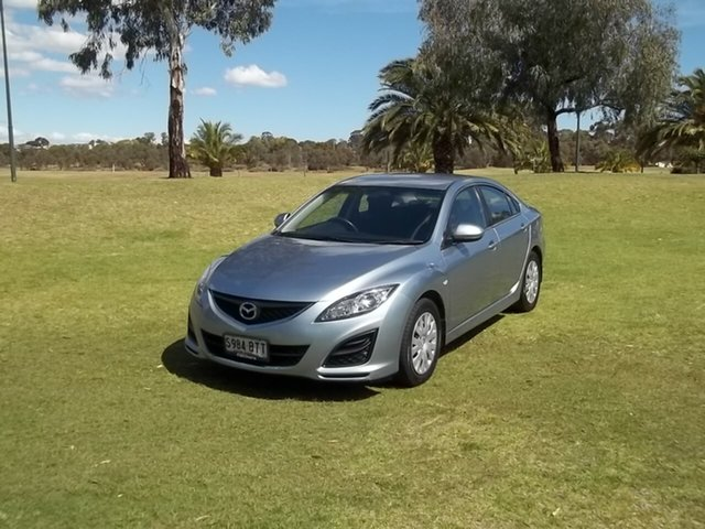 Used Mazda 6 GH1052 MY12 Touring, 2011 Mazda 6 GH1052 MY12 Touring Blue 5 Speed Sports Automatic Sedan