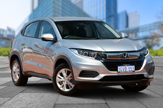 2019 Honda HR-V MY19 VTi Lunar Silver 1 Speed Constant Variable Hatchback.