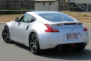 2019 Nissan 370Z Z34 MY18 Brilliant Silver 7 Speed Sports Automatic Coupe.