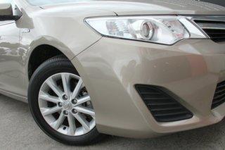 2014 Toyota Camry AVV50R Hybrid Magnetic Bronze 1 Speed Automatic Sedan.