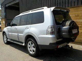 2007 Mitsubishi Pajero NS VR-X Silver 5 Speed Sports Automatic Wagon
