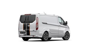 2020 Ford Transit Custom VN 2020.50MY 320S (Low Roof) Sport Frozen White 6 Speed Automatic Van