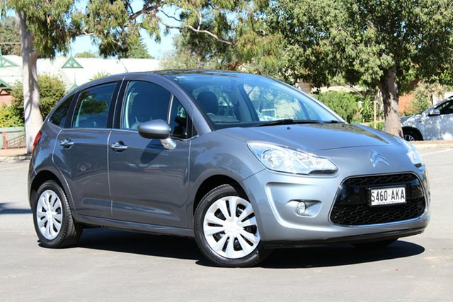 Used Citroen C3 A5 Exclusive, 2010 Citroen C3 A5 Exclusive Grey 4 Speed Sports Automatic Hatchback