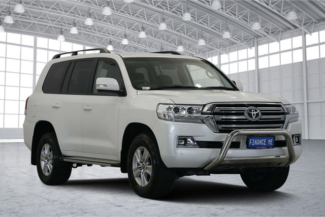 Used Toyota Landcruiser VDJ200R GXL, 2019 Toyota Landcruiser VDJ200R GXL White 6 Speed Sports Automatic Wagon