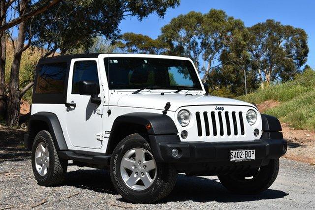 Used Jeep Wrangler JK MY2014 Sport, 2014 Jeep Wrangler JK MY2014 Sport White 5 Speed Automatic Softtop