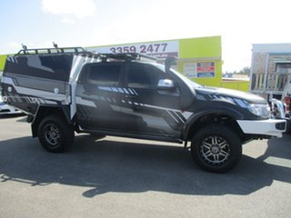 2013 Ford Ranger PX XLS Double Cab Grey 6 Speed Manual Utility.