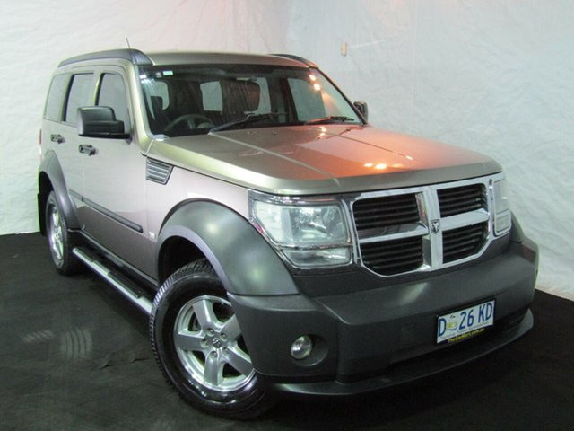 Used Dodge Nitro KA MY07 SX, 2007 Dodge Nitro KA MY07 SX Gold 5 Speed Sports Automatic Wagon