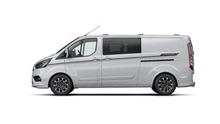 2020 Ford Transit Custom VN 2019.75MY 320L (Low Roof) Sport Frozen White 6 Speed Automatic Van