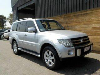 2007 Mitsubishi Pajero NS VR-X Silver 5 Speed Sports Automatic Wagon.