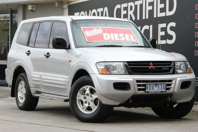 Used Mitsubishi Pajero NM MY2002 GLS, 2002 Mitsubishi Pajero NM MY2002 GLS 5 Speed Sports Automatic Wagon
