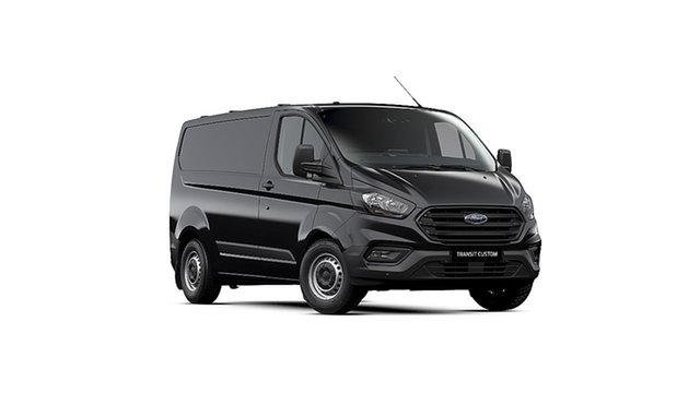 New Ford Transit Custom VN 2019.75MY 340S Low Roof SWB, 2019 Ford Transit Custom VN 2019.75MY 340S Low Roof SWB Agate Black 6 Speed Automatic Van
